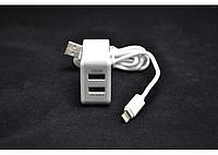 "Адаптер 2xUSB ""LDNIO"" 2202A+ кабель Iphone"