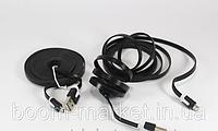 ШНУР USB-MICRO USB 1M FLAT V8, КАБЕЛЬ MICRO USB