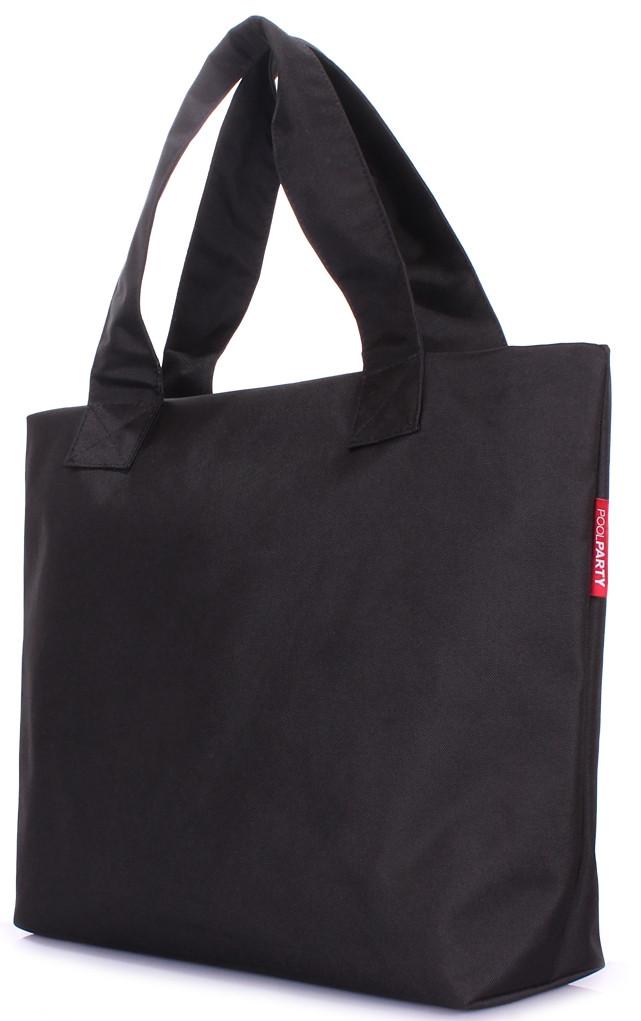 Стильная городская сумка POOLPARTY pp1-oxford черная