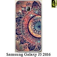 Чехол для Samsung J3 2016, бампер, F029, орнамент