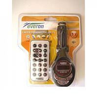 Авто mp3 модулятор Everon FM-ED21, компактный FM-трансмиттер
