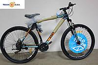 """Велосипед 29"""" Optimabikes MOTION AL DD 2017 черно-оранжево-синий"""