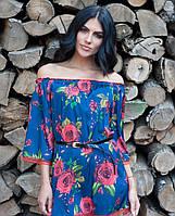 Роскошная блуза с узором Розария