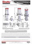Гидроцилиндр Binotto MFС-B3 187-5-5135 D0343 (фронтальный), фото 2