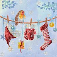 Схема для вышивки бисером Новогоднее настроение