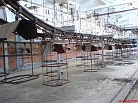 Подвесной грузонесущий конвейер на кирпичный завод