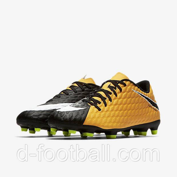 Футбольные бутсы Nike Hypervenom Phade III FG 852547-801 9e6d3d8d40eaa