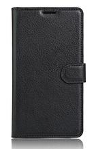 Шкіряний чохол-книжка Samsung Galaxy J7 Prime 2016 чорний