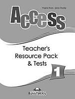 Наглядные материалы «Access», уровень 1, Virginia Evans | Exspress Publishing