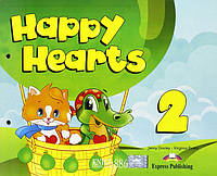Учебник «Happy Hearts», уровень 2, Jenny Dooley   Exspress Publishing