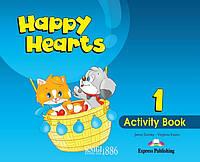 Рабочая тетрадь «Happy Hearts», уровень 1, Jenny Dooley   Exspress Publishing