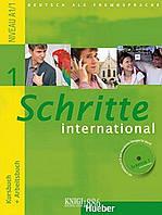 Учебник, рабочая тетрадь и аудиодиск «Schritte International», уровень 1, Silke Hilpert,Marion Kerner | Hueber ()