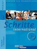 Учебник, рабочая тетрадь и аудиодиск «Schritte International», уровень 3, Silke Hilpert,Marion Kerner | Hueber
