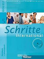 Учебник, рабочая тетрадь и аудиодиск «Schritte International», уровень 5, Silke Hilpert,Marion Kerner | Hueber ()