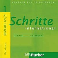 Аудио-диск «Schritte International», уровень 1, Daniela Niebisch, Sylvette Penning-Hiemstra, Franz Specht | Hueber