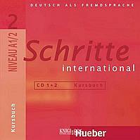 Аудио-диск «Schritte International», уровень 2, Daniela Niebisch, Sylvette Penning-Hiemstra, Franz Specht | Hueber
