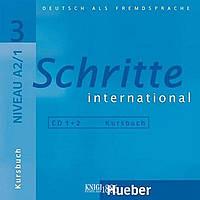 Аудио-диск «Schritte International», уровень 3, Daniela Niebisch, Sylvette Penning-Hiemstra, Franz Specht | Hueber