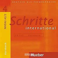 Аудио-диск «Schritte International», уровень 4, Daniela Niebisch, Sylvette Penning-Hiemstra, Franz Specht | Hueber