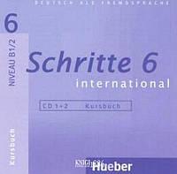 Аудио-диск «Schritte International», уровень 6, Daniela Niebisch, Sylvette Penning-Hiemstra, Franz Specht | Hueber