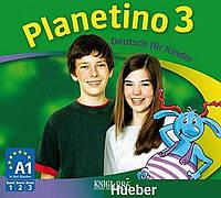 Аудио-диск «Planetino», уровень 3, Gabriele Kopp, Siegfried Buttner, Josef Alberti | Hueber