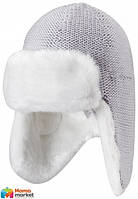 Шапка-ушанка зимняя детская Reima 528344, цвет 9400