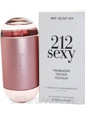 Tester Carolina Herrera 212 Sexy Women edp 100ml