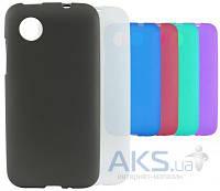 Чехол Original TPU Case LG Optimus L90 D405 Violet