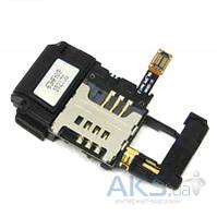 Шлейф для Samsung S8500 Wave с разъемом карты памяти