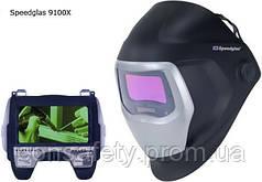 Сварочная маска с ФАЗ SPEEDGLAS 9100Х,  501115,  c боковыми окнами