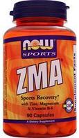 Цинк магний B6, Now Foods, ZMA, 90 caps