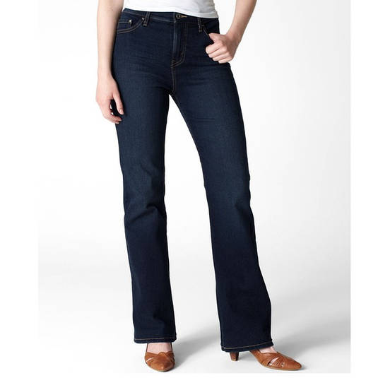 Женские джинсы Levi s 512 Perfectly Slimming Misses  Jeans — Midnight Star ffd82a04124bb