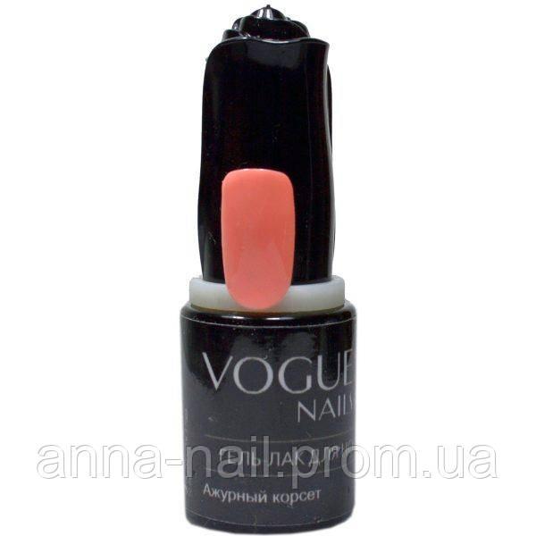 Гель лак Ажурный корсет Vogue Nails коллекция Барби стиль