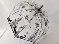 Зонтик трость с глубоким куполом № 7000А от MARIO
