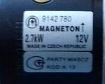 Стартер МТЗ, Т 40, ЮМЗ, Т 25 2,7 кВт/12В, фото 3