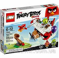 "Конструктор Angry Birds Lepin 19002 (Аналог LEGO 75822)""Самолетная атака свинок""185 деталей"