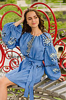Платье с вышивкой СЖ 2508,платье с вышивкой, вышитое платье, вышивка, купить  платье, фото 1