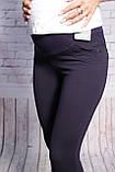 Лосини для вагітних утеплені синього кольору Big Lesson( Cemifa) (код 3297)Туреччина. Розміри 36-42, фото 5