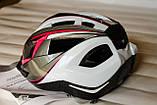 Шлем велосипедный Crivit+Мигалка, Велошлем Crivit, Германия, Оригинал!, фото 2