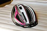 Шлем велосипедный Crivit+Мигалка, Велошлем Crivit, Германия, Оригинал!, фото 4