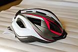 Шлем велосипедный Crivit+Мигалка, Велошлем Crivit, Германия, Оригинал!, фото 5