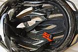 Шлем велосипедный Crivit+Мигалка, Велошлем Crivit, Германия, Оригинал!, фото 7