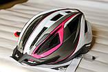 Шлем велосипедный Crivit+Мигалка, Велошлем Crivit, Германия, Оригинал!, фото 9