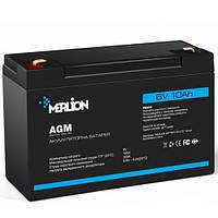 Аккумуляторна батарея MERLION AGM GP6120F2 6 V 12Ah  ( 151 x 50 x 100 ) Q10