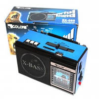 Радио приемник RX-081-S портативная акустика Фм