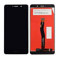 Дисплей Huawei Honor 6X хуавей (BLN-L21)/GR5 (2017) с тачскрином в сборе, цвет черный