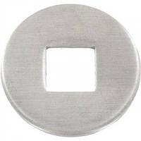 DIN 440 тип V, Шайба увеличенная Ø5 форма отверствие квадратное из нержавейки