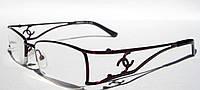 Очки для коррекции зрения COMFORT 981-3  (вставка изюмское стекло)