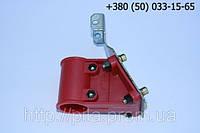 Крепление защиты для мотокосы для трубы Ø28 мм.