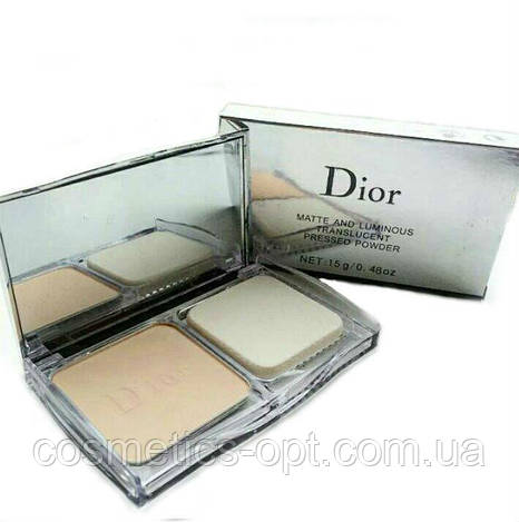 Пудра Dior Matte and Luminous (реплика)