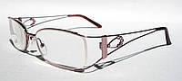 Очки для коррекции зрения Comfort 3681розовые (вставка изюмское стекло)